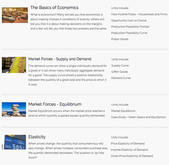 Sample Econblox Video Listing